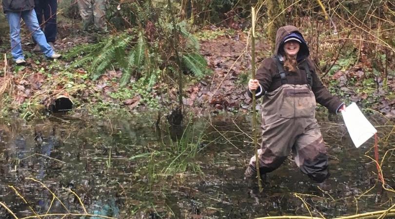 Amphibian Monitoring with Woodland Park Zoo