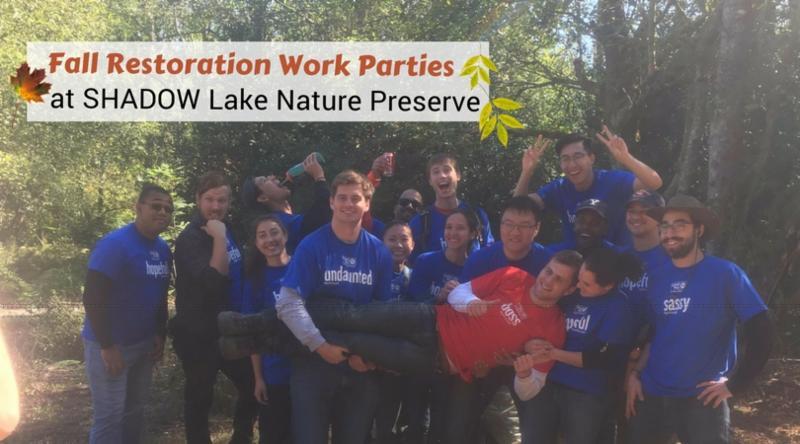 Fall Restoration Work Parties